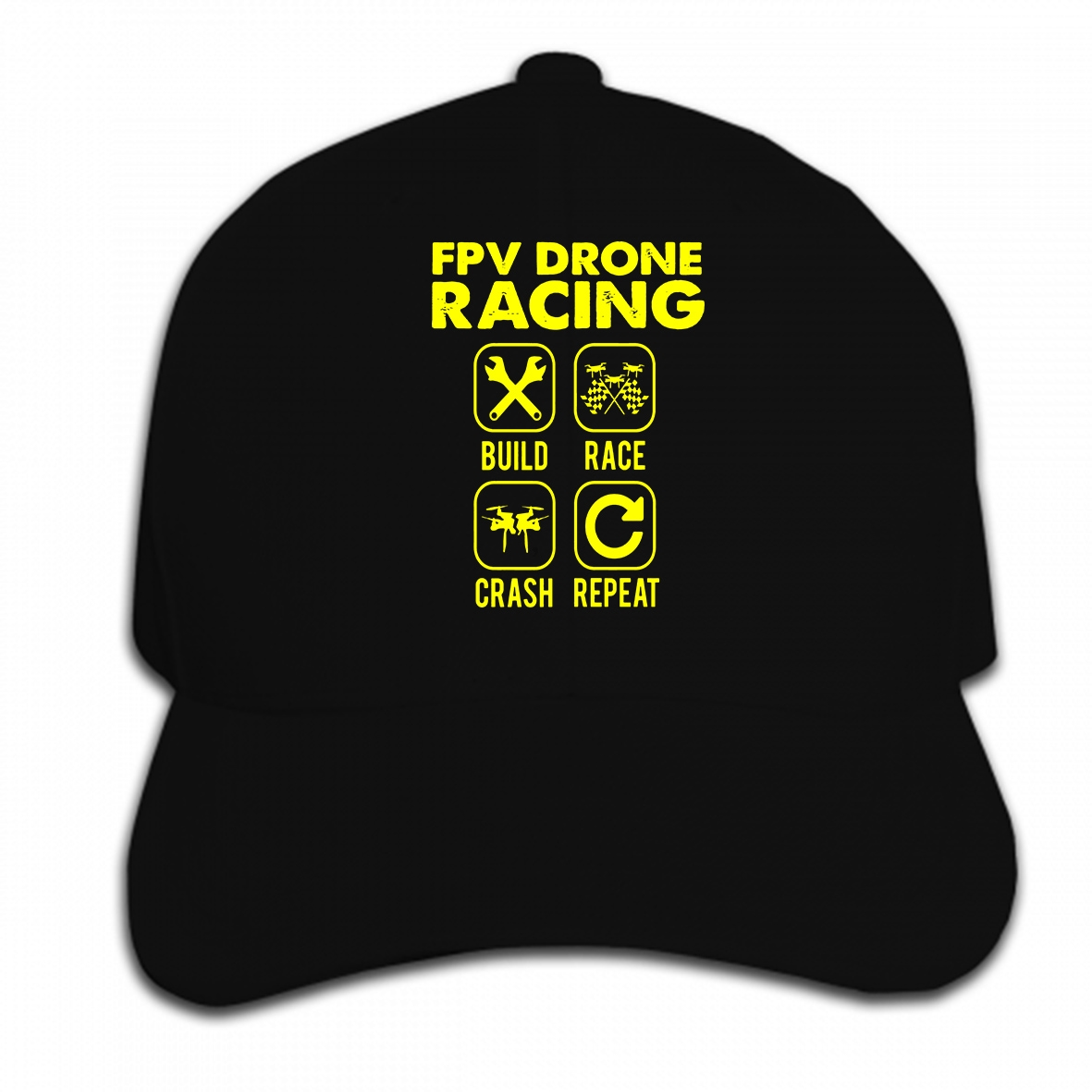 Custom Drone Racing Gates and Apparel | FPV by US |Drone Racing Hat