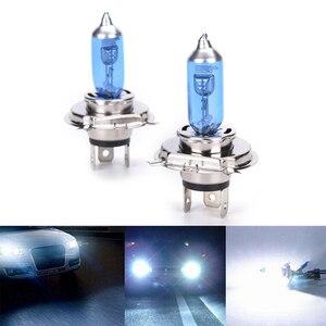 جديد 2 قطعة سيارة السيارات H4 HID زينون سوبر وايت العلوي 12 V 55 W مصباح هالوجين ضوء المصباح