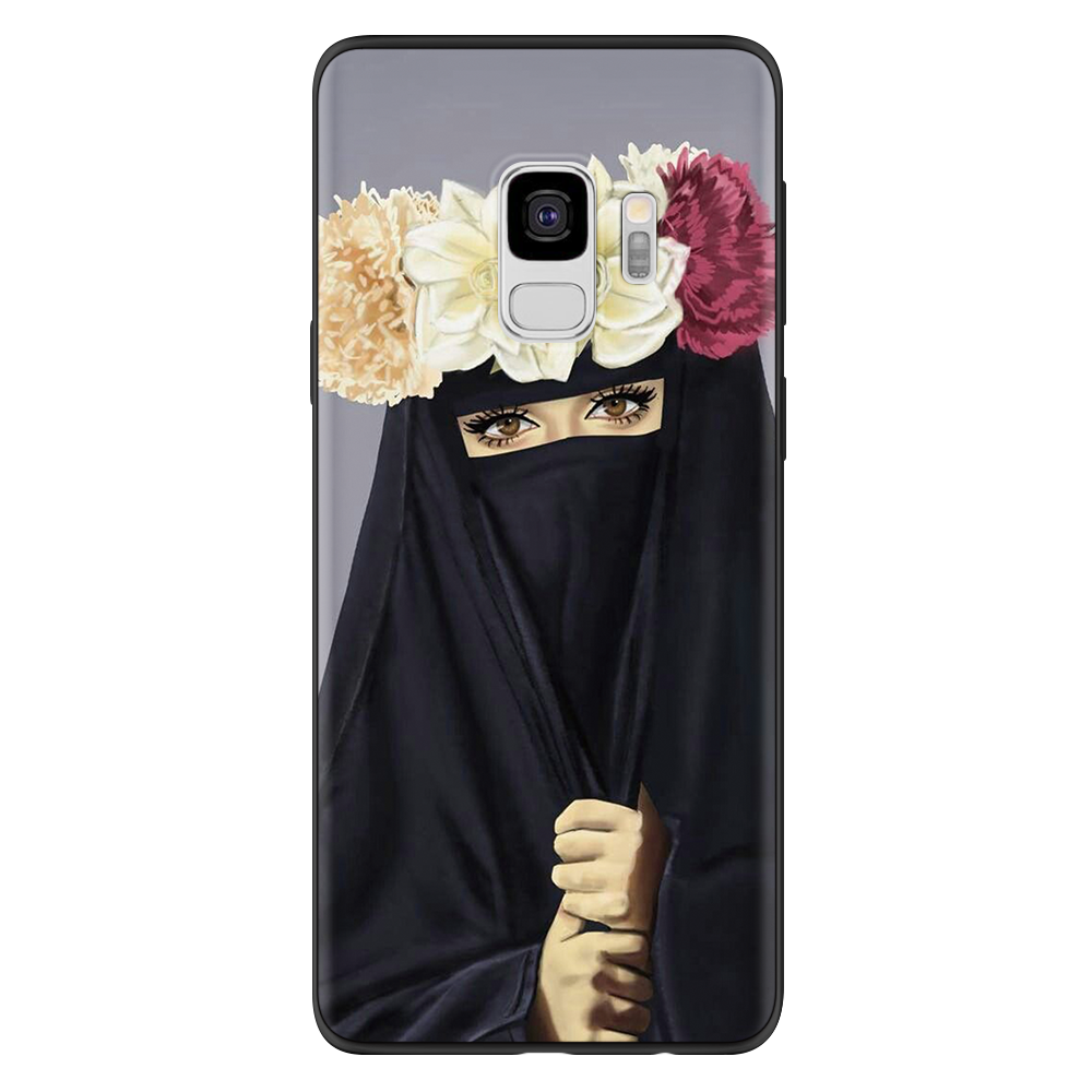 Image 4 - Islamic Hijab Gril Case For Samsung Galaxy J5 J7 J2 Prime J6 J4  Plus 2018 2016 2017 Case For Samsung Note 9 8 4 M30 M20 M10 CaseFitted  Cases