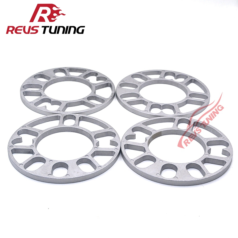 2 X 10mm SHIMS SPACER UNIVERSAL ALLOY WHEELS SPACERS FOR HONDA CIVIC V11 04/>07