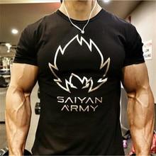 Vyriški marškinėliai Mada 2018 naujas vasaros stilius Trumpas rankovėmis Vyriški marškiniai homme Solid Fitness High Quality men's T-shirt