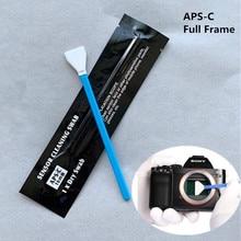 6Pcs Digital Camera Lens Cleaner Swab Sensor Cleaning Swabs Kit for Nikon Canon