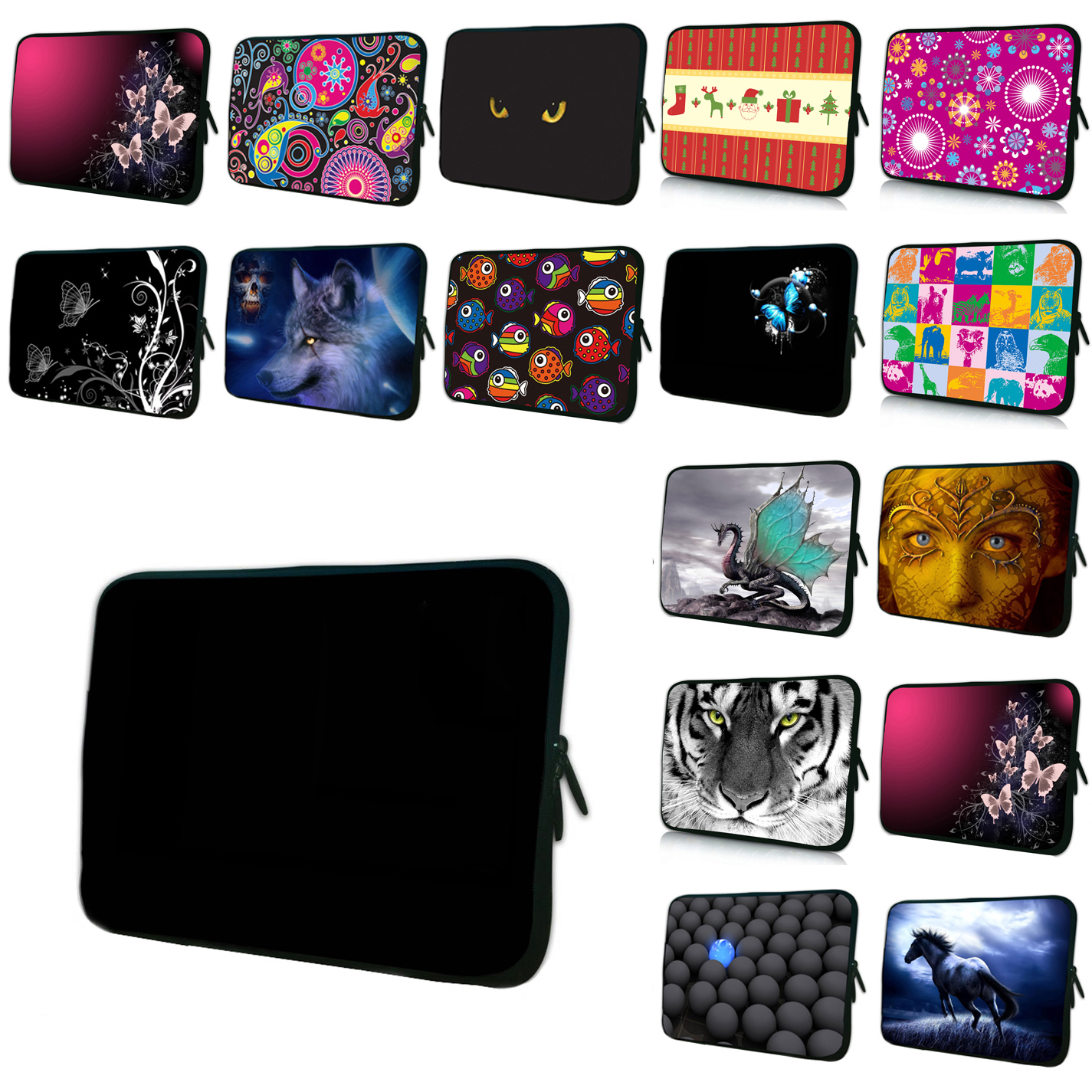 7 8 Mini PC Tablets Shell Case Bags For Apple Chuwi Lenovo Xiaomi 10 10.1 11.6 12 13.3 14 15 15.6 17 Notebook Shell Cover Bag