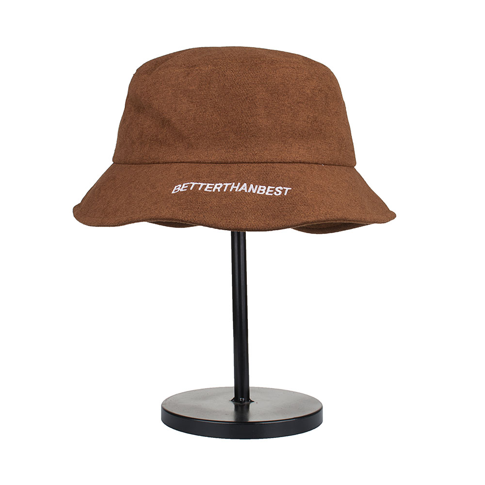 Joymay 2018 High quality Fashion New Arrival Spring Unisex Bucket Hat  Fisherman embroidery better than best outdoor Cap YF008 266fe6282c50