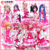 2017 Halloween Costume For Women Love Live After School All Members Uniforms Dress Cosplay Costume