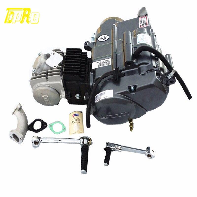 Натуральная 125cc двигатель Lifan мотор 4 тактный начните с ручным управлением 1 3 до для Honda XR50 CRF50 XR70 CRF70 CT70 ST70 110CC