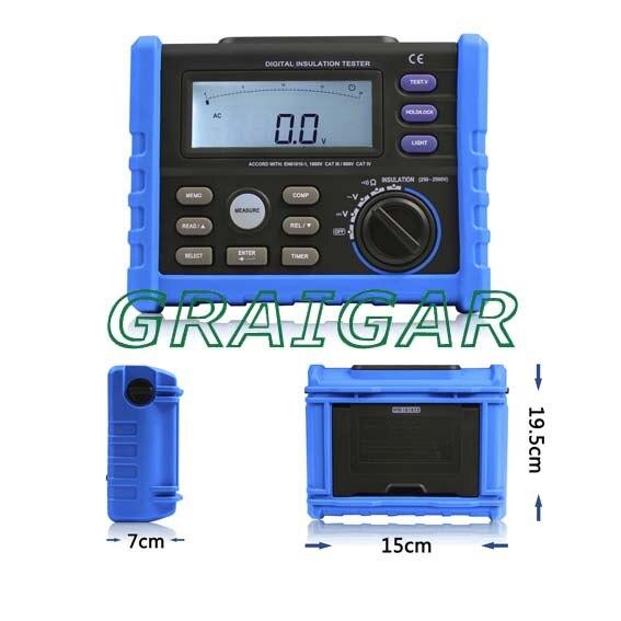AIM02 250-2500V DIGITAL INSULATION TESTER