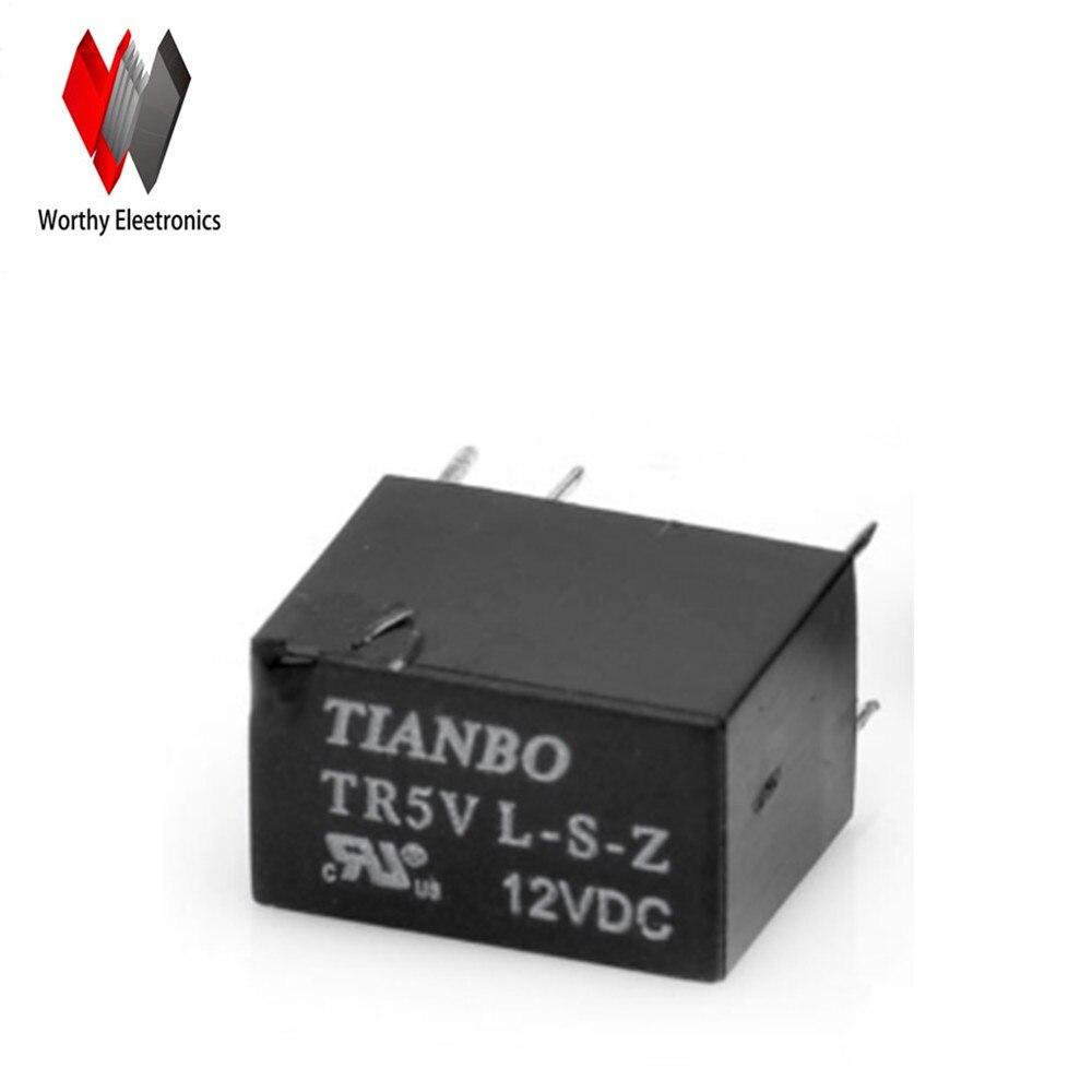 wholesale   10pcslot  relay   TR5V-L-S-Z 12VDC