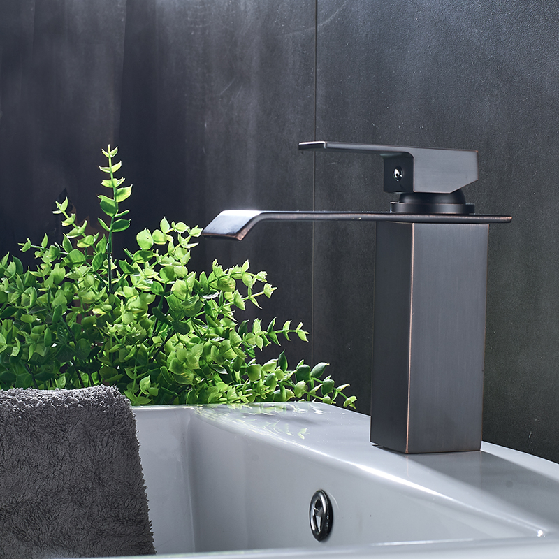 Federation Vanities For Bathrooms: Free Shipping New Arrival Blacked Bronze And Chrome Basin