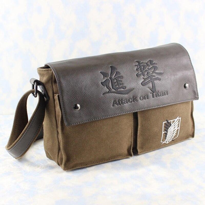 Attack on Titan Bag Shoulder Bag Shingeki no Kyojin Legion Messenger Bag Handbag