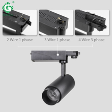 Color Changeable Zoom 20W Track Light 2.4G RF Brightness CCT Dimmable LED Rail Lights Clothing Store Lighting System