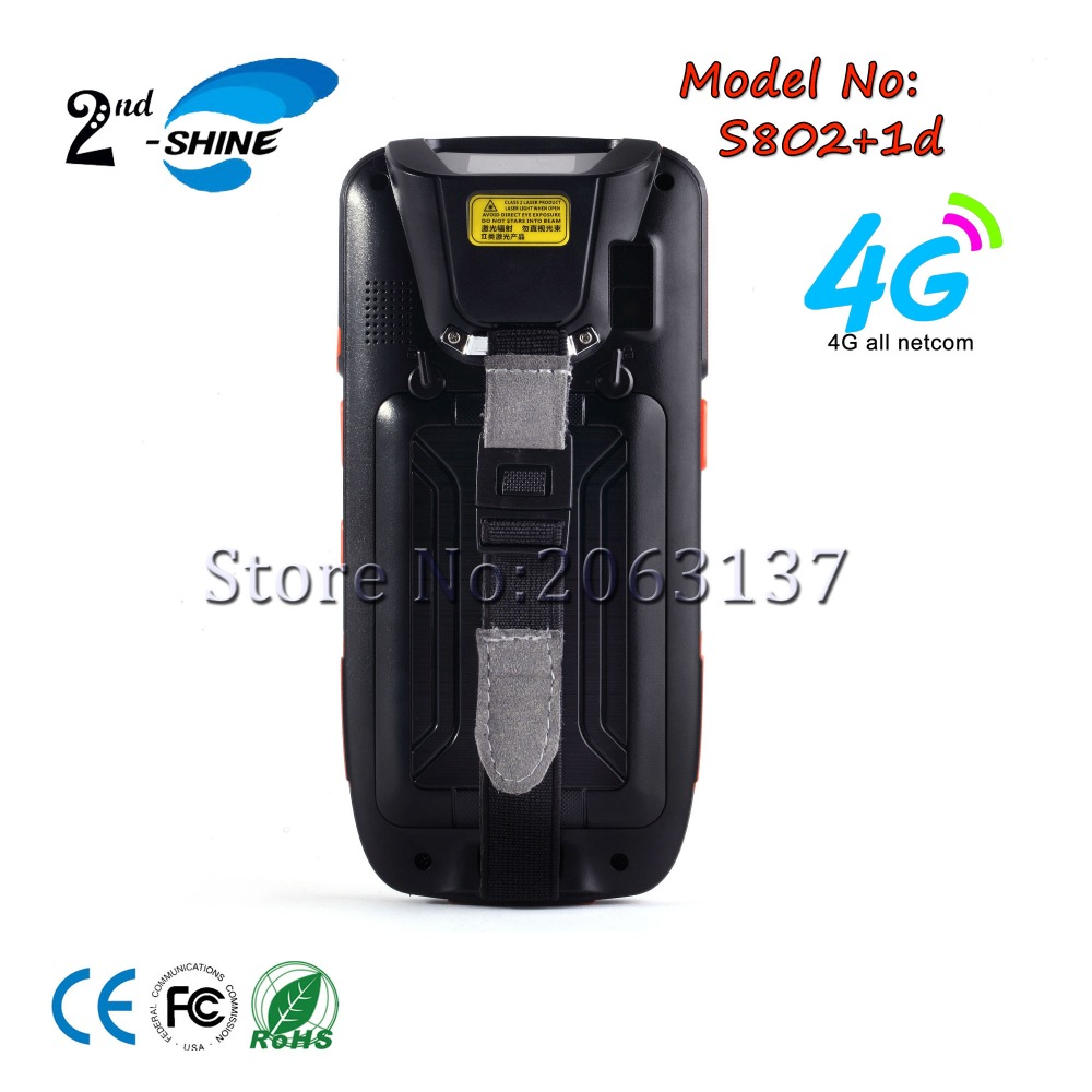 S802 Industrial 4.0 Screen Pda Android Wifi Handheld Inventory 1D Scanner