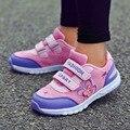 Новые осенние дышащие детские кроссовки  сетчатые кроссовки для девочек  спортивная обувь для детей  Повседневные детские кроссовки с выши...