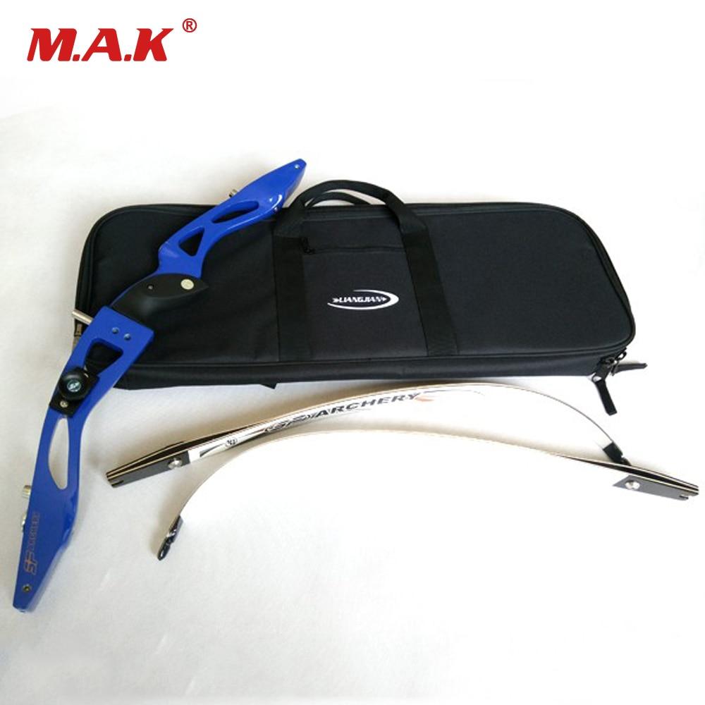 arco recurvo saco de transporte facil arco caso para arco recurvo colocar acessorios interior macio pelucia