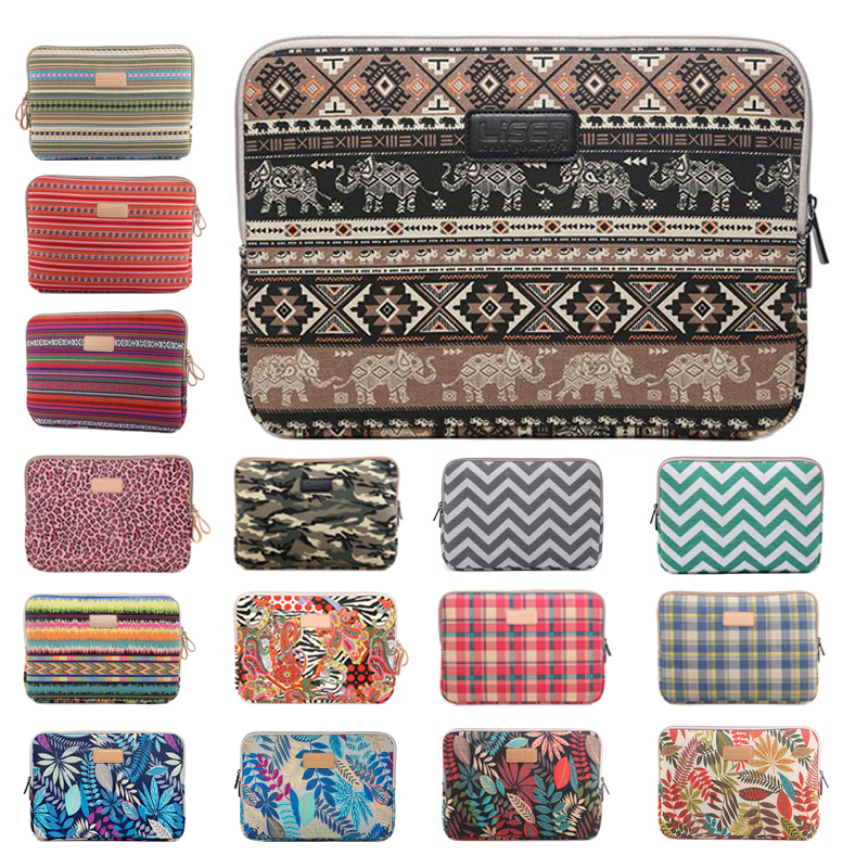2018 hot fashion Laptop Sleeve for Macbook air 11 12 13 Retina Pro 15 Case 14 15.6 Notebook Bag for ipad mini <font><b>1</b></font> <font><b>2</b></font> 3 4 7.9 Tablet image