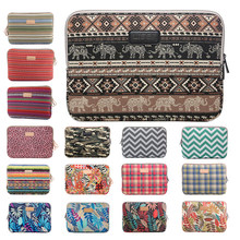 2018 hot fashion Laptop Sleeve for Macbook air 11 12 13 Retina Pro 15 Case 14 15.6 Notebook Bag for ipad mini 1 2 3 4 7.9 Tablet(China)