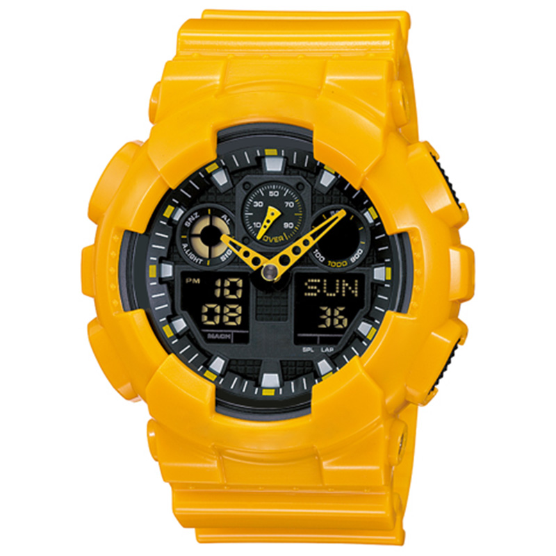 Big G Men's Military Military Watch Led Digital Sports Waterproof And Shockproof Outdoor Multi-function Watch Automatic Lighting