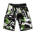 2016 Лето мужская марка мода пляж шорты свободные быстросохнущие пляжные шорты печати мужчины совета шорты Купальник