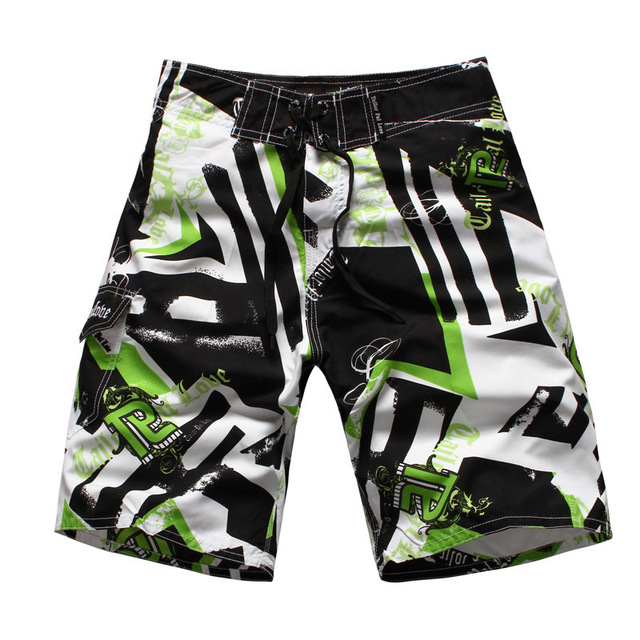 2016 Summer Men's brand fashion beach shorts loose quick-drying beach shorts printing men board shorts Swimsuit
