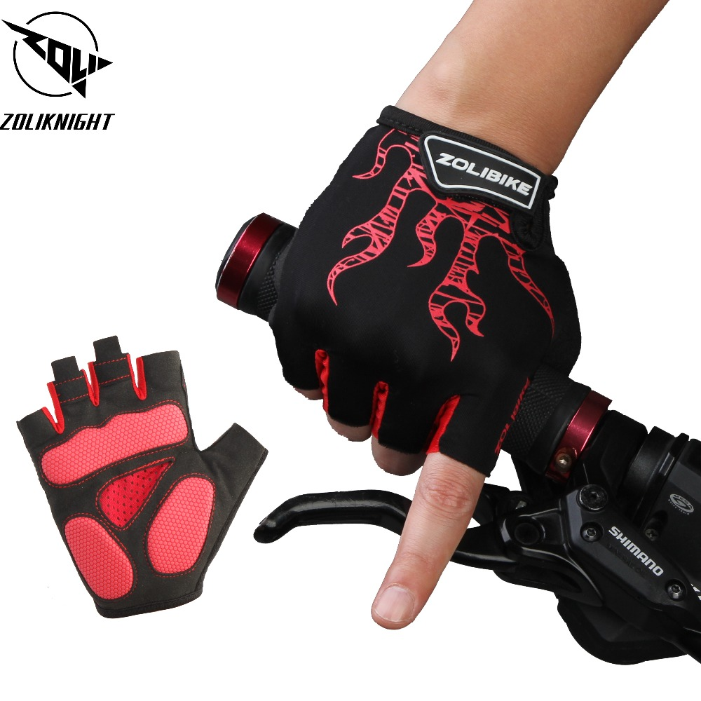 Sports, Gloves, Half, Mountain, Shockproof, Clothings