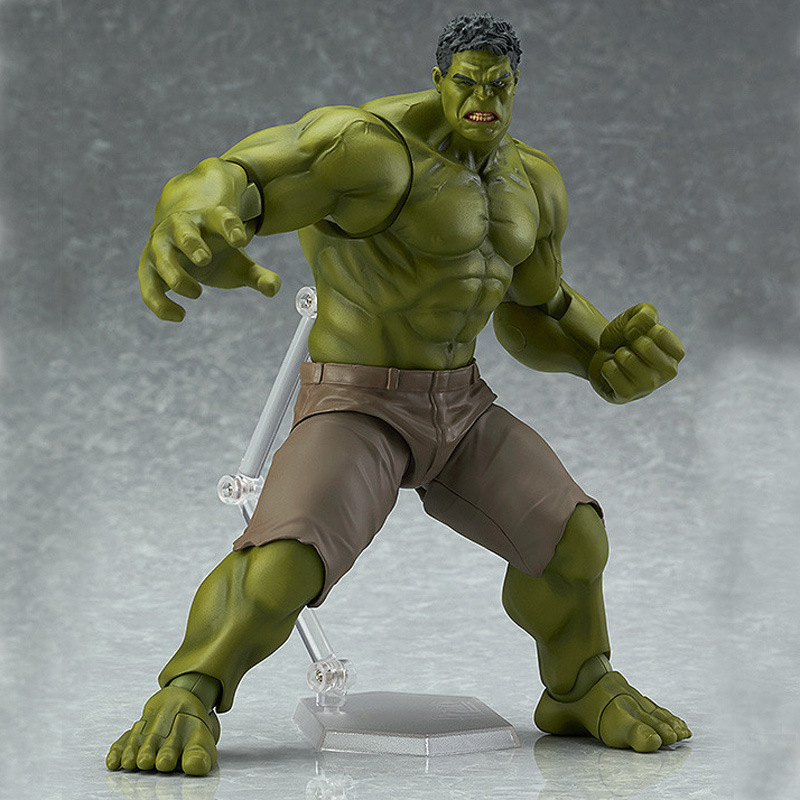 Justice League Avengers:Infinity War Incredible Hulk Joint Movable Bruce Banner PVC Action Figure Collectible Model Toy L532 avengers movie hulk pvc action figures collectible toy 1230cm retail box