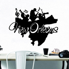 Beauty new dreams music Vinyl Kitchen Wall Stickers Wallpaper For Childrens Room Waterproof Art Decal