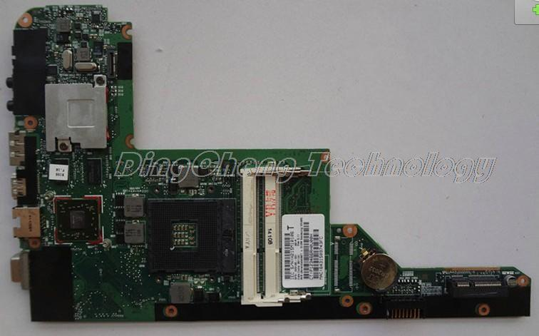 SHELI laptop Motherboard For hp DV3-4000 628186-001 HM55 DDR3 HD 5430 512M non-integrated graphics card