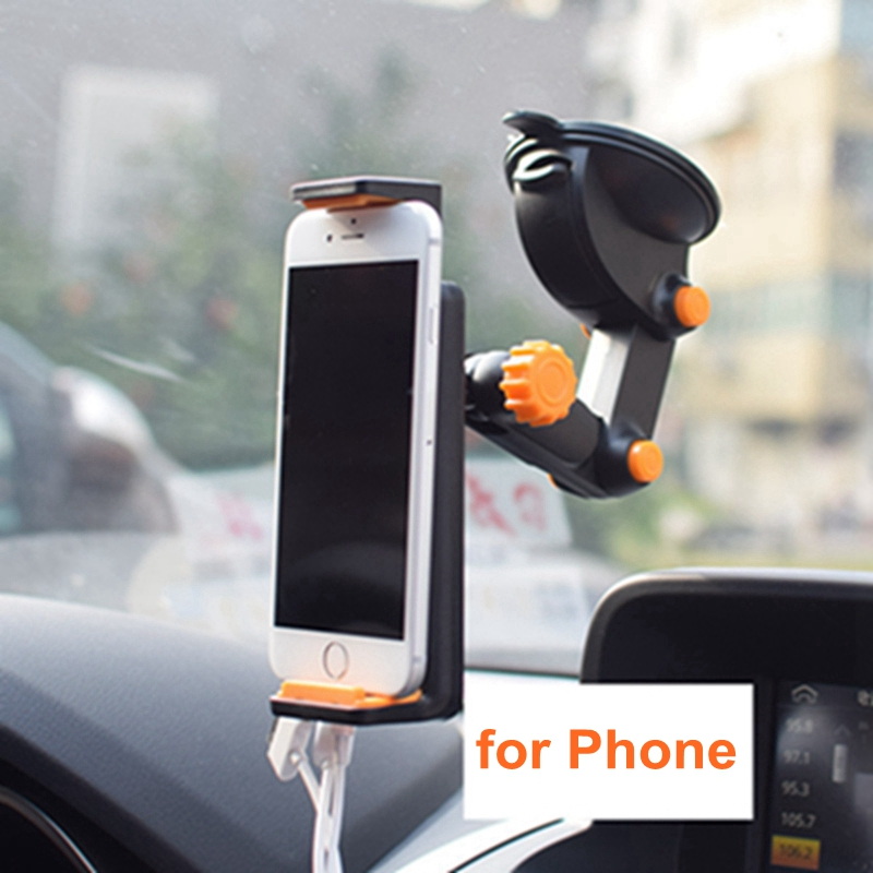 New Adjustable Foldable Long Neck Arm Rotatable Car Mount Cell Phone Tablet Holder Table Sucking Stand Holder for Phone Tablet in Phone Holders Stands from Cellphones Telecommunications