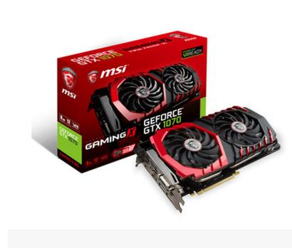 MSI GTX1070 GAMING X 8G Red Dragon faith RGB light effect non-public version of the game ...