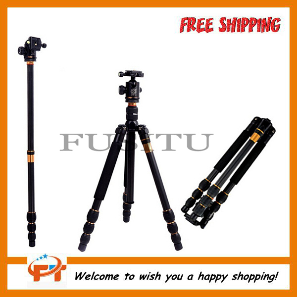 QZSD Q476 Professional SLR Camera Tripod Monopod free shipping qzsd q472 slr camera tripod monopod
