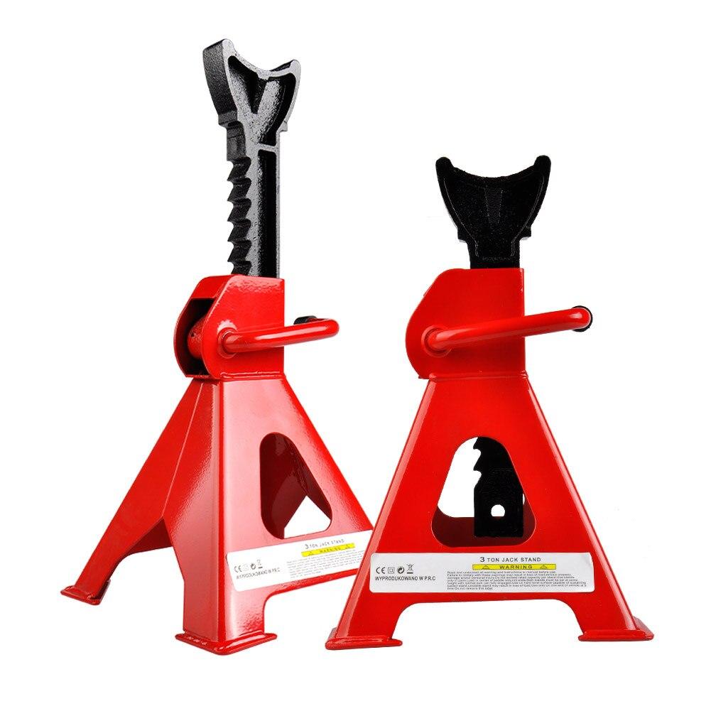 Voiture Jack support réparation outil voitures accessoires Jack support réglable hauteur lourde plancher métal crics