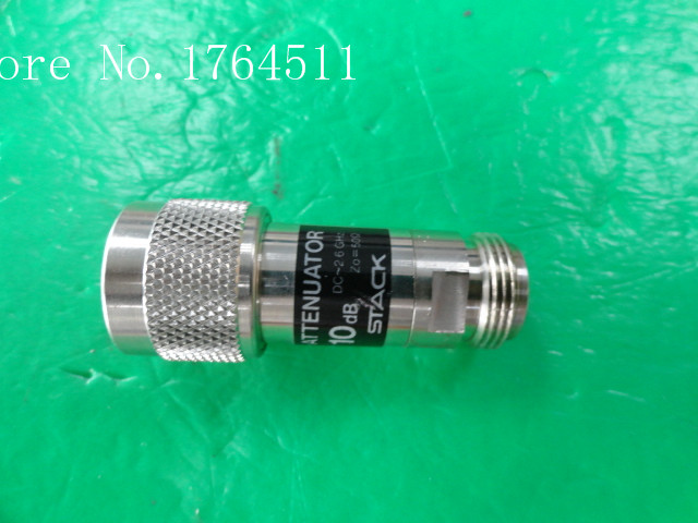 [BELLA] STACK DC-2.6GHz 10dB RF Coaxial Fixed Attenuator N  --2PCS/LOT