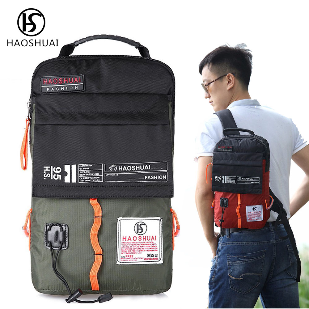 Men Quality Nylon Waterproof Backpack Travel Casual Backpack Fashion Men Backpack Small Travel Bag Pack Brand New compact fashion waterproof men backpack