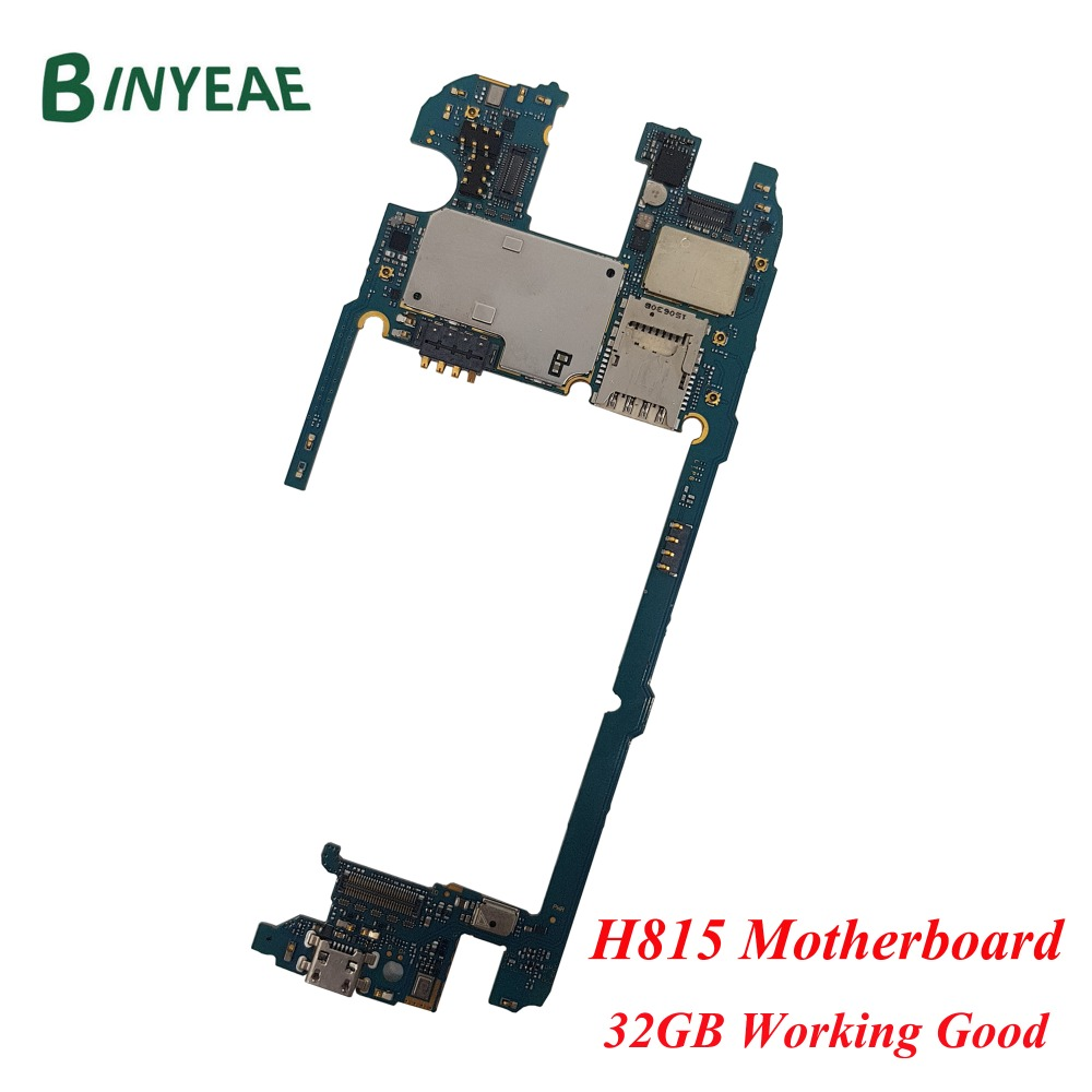 BINYEAE Original 32GB For LG G4 H815 Motherboard,Unlocked for LG G4 H815 Mainboard