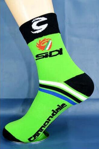 יוניסקס טור דה פראנס רכיבה מקצועי לנשימה ספורט אופני גרביים באיכות גבוהה להגן על רגליים אופניים גרביים