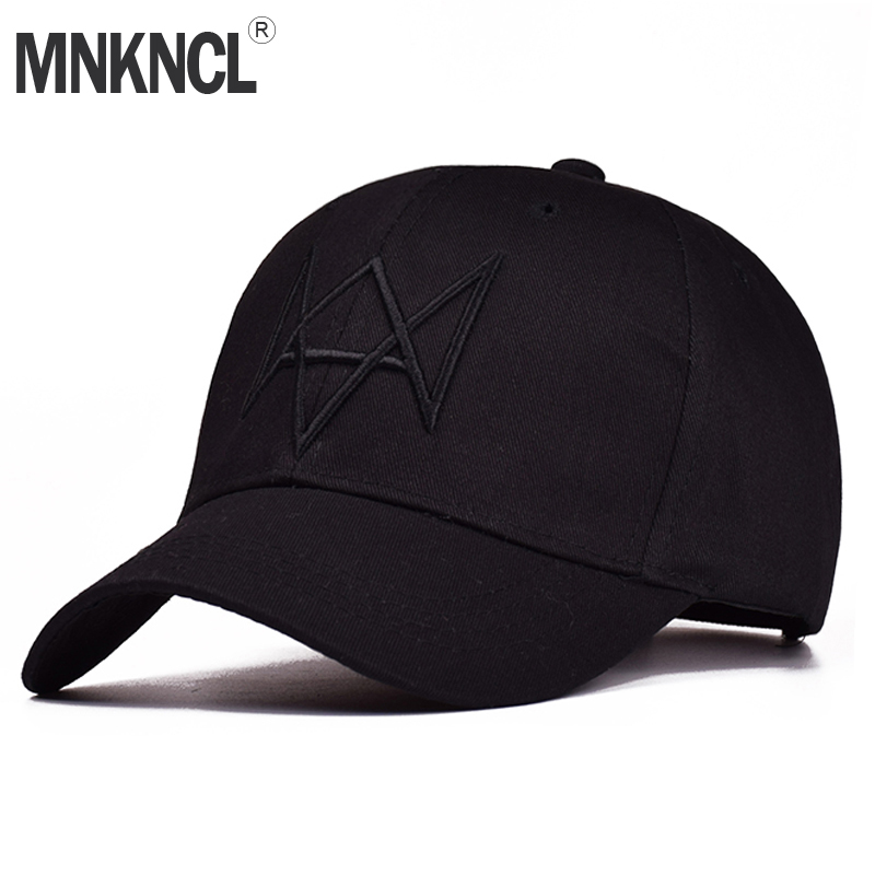 MNKNCL High Quality Watch Dogs Aiden Pearce Baseball Cap Costume Cosplay Watch Dogs Hat Adjustable Snapback Cap Hats anime pocket monster flareon cosplay cap orange cartoon pikachu ladies dress pokemon go hat charm costume props baseball cap