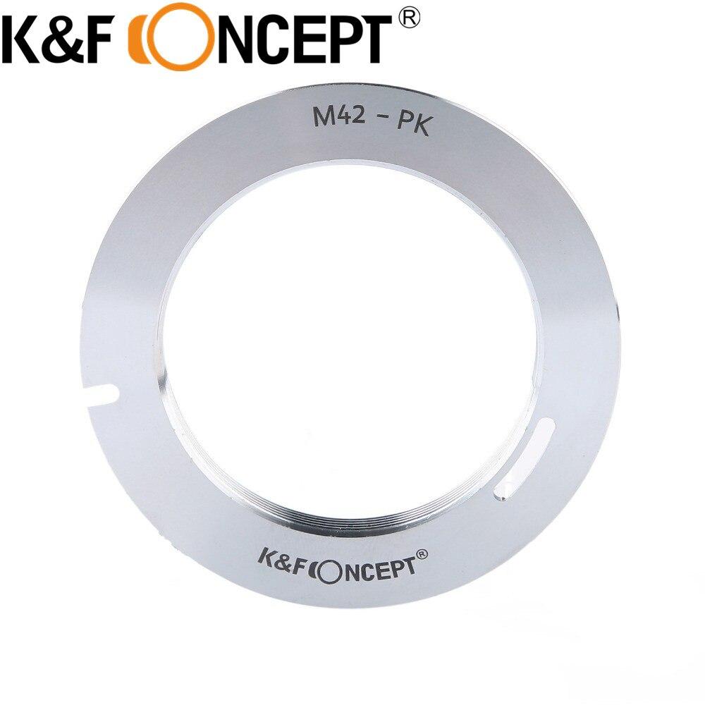 இK & F concept m42-pk anillo adaptador M42 42mm tornillo ...