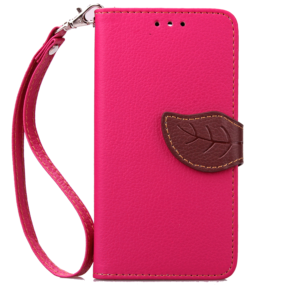 Case For Samsung ON5 Cover Soft Silicone & Flip Leather Case For Samsung Galaxy On5 On 5 O5 G5500 Fundas Card Slot Phone Shell