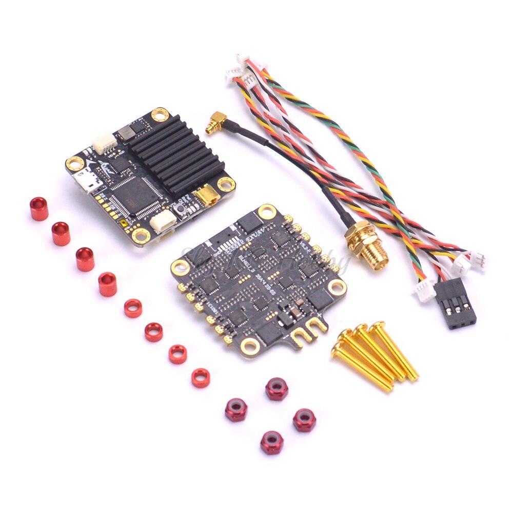 Flytower F4 Pro V2 Vol contrôle Intégré OSD 48CH VTX + 4 dans 1 ESC BLHeli_S Dshot 150/300 /600 Pour FPV RC Racing Drone