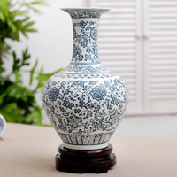 Jingdezhen porcelain vase creative handmade matte glazed porcelain Home Furnishing decorative ornaments