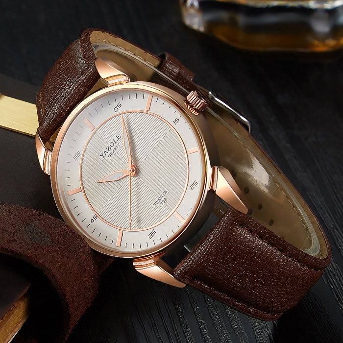 YYAZOLE Business New Wrist Watch Men Watches Top Brand Luxury Famous Male Clock Quartz Wristwatch For Men Hour Relogio Masculino Multan