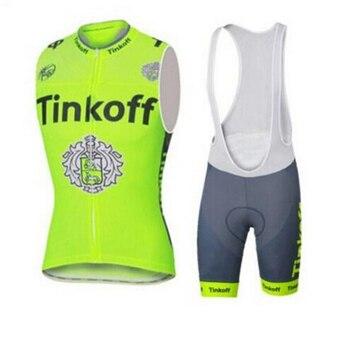 Tinkoff 2019, camiseta de Ciclismo, chaleco de equipo de verano sin mangas,...