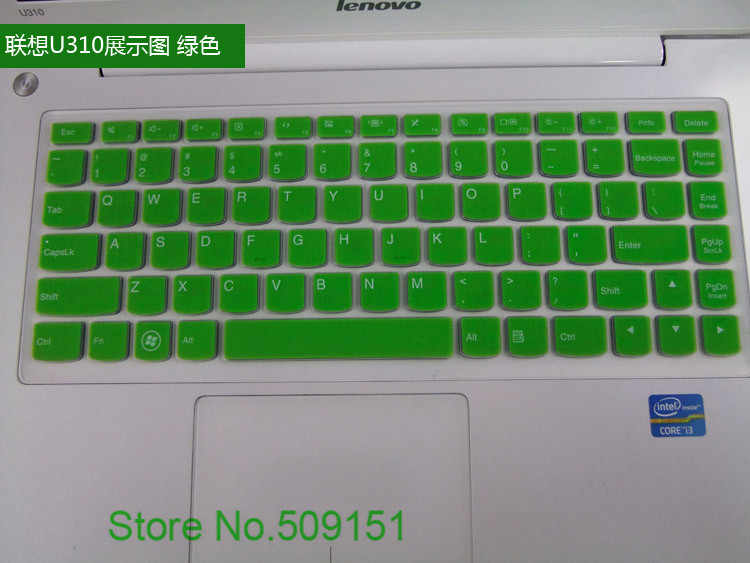جديد وصول سيليكون لوحة المفاتيح غطاء حامي الجلد لينوفو S40-70 M40/30 U31 U310 U410 S300 اليوغا 2 13 m490S Z400 U330P