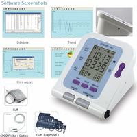 New CE FDA Digital Blood Pressure Monitor USB Software CD Included CONTEC08C BP Monitor, Tensiomete