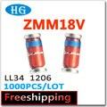 Zmm18 ZMM18V 18 V 1206 LL34 0,5 W 1/2 W 1000 unids/lote zmm8v2-30v smd datos dentro podemos ofrecemos muestras gratis de alta calidad de diodos zener