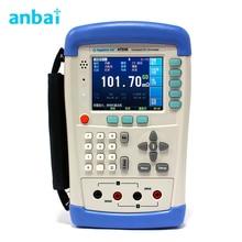 Big discount Handheld DC Milliohm Resistance Meter Tester 10micro-200k ohm AT518L