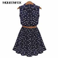 Mqueenfox mulheres gato pegadas padrão mostrar vestido de camisa fina 2019 novo design vestidos de verão com cinto camisas femininas vestido