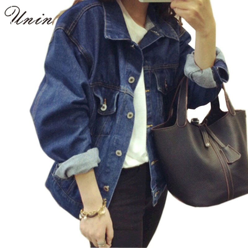 Dark Blue Denim Jacket Womens - Coat Nj