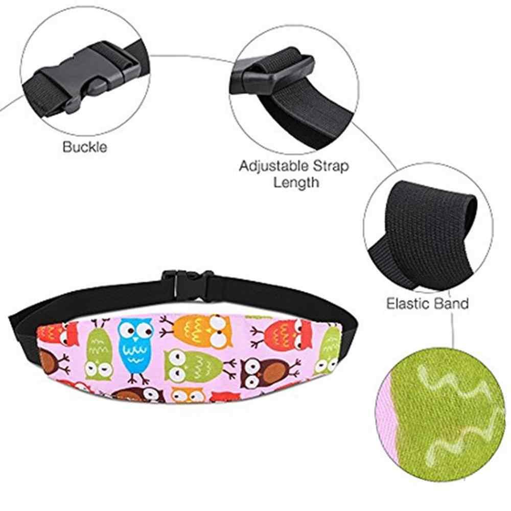 Ajustable Niño niña Corralitos dormir posicionador bebé de seguridad almohadas bebé asiento de coche de bebé de la cabeza en apoyo de los niños cinturón Cierre de cinturón