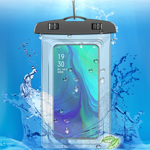 купить Phone Pouches 3.5-6.5 inch Universal Waterproof Case For iPhone X XR 8 7 6 Plus Cover Pouch Bag Cases For Water proof Phone Case онлайн